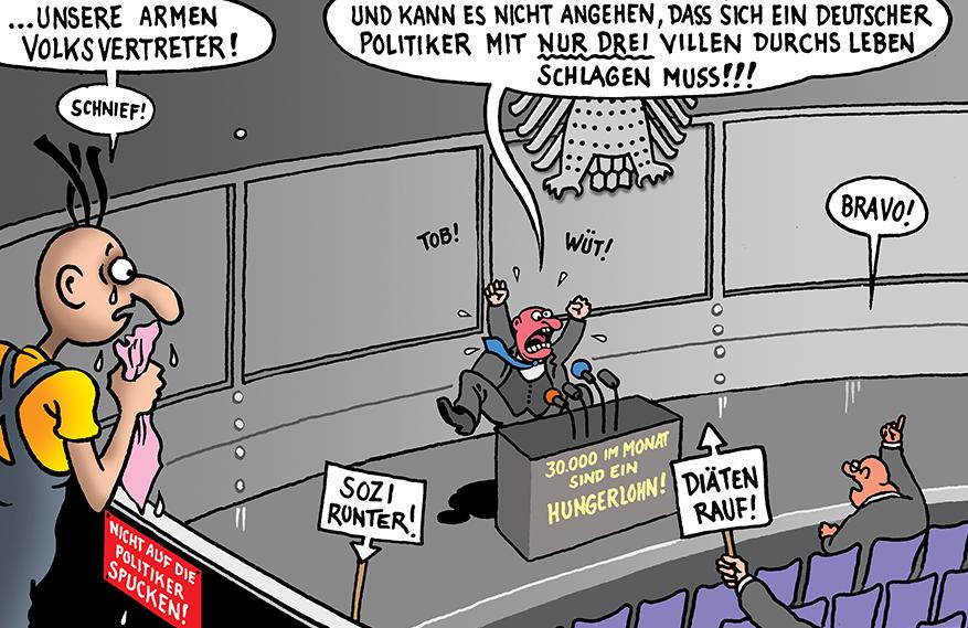 Diätenerhhoehung Bundestag