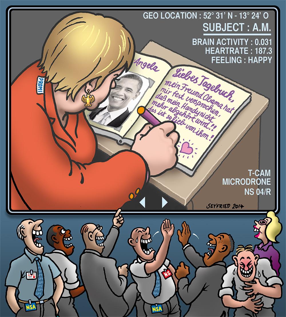 Merkel NSA Obama