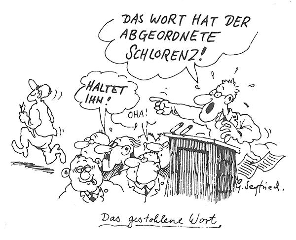 Neulich im Bundestag
