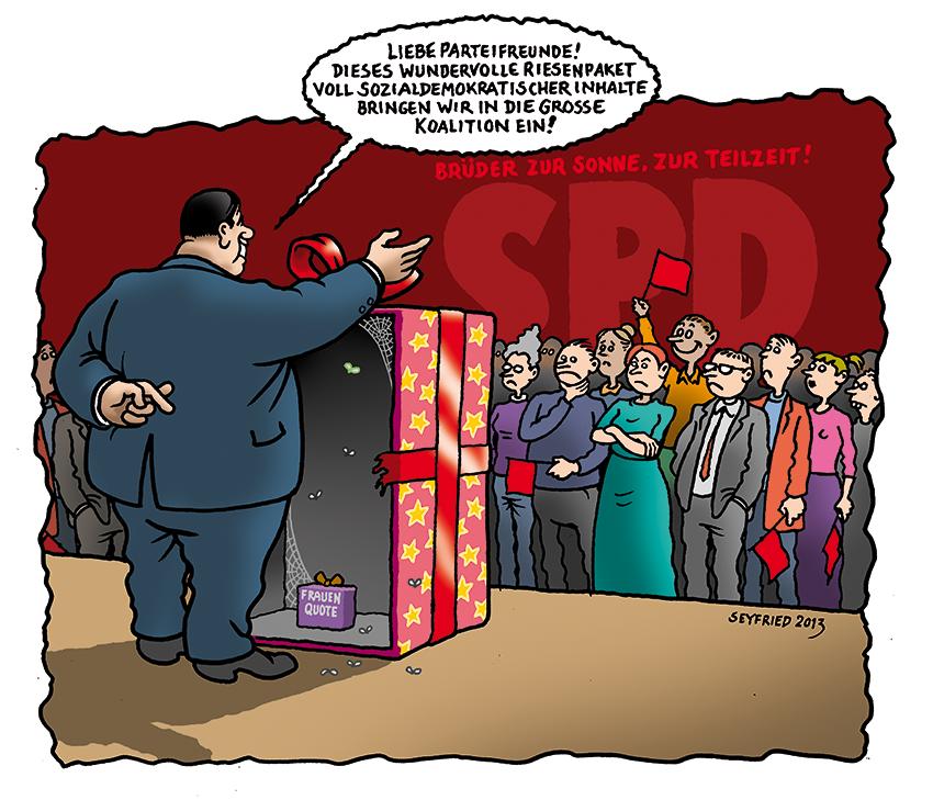 Seyfried SPD Grosse Koalition