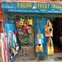 Das Hanfposter in der Freak-Street in Katmandu...