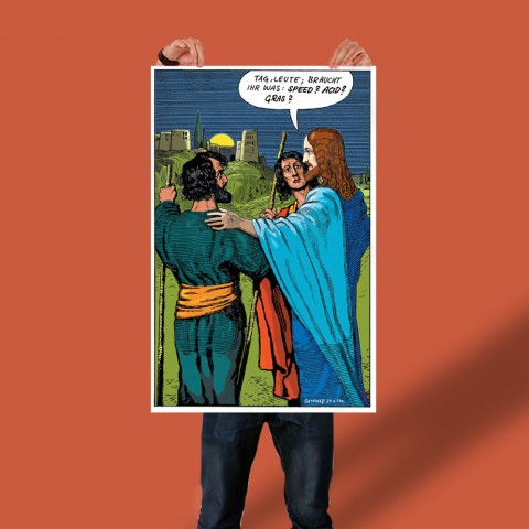 Poster: Jesus dealt