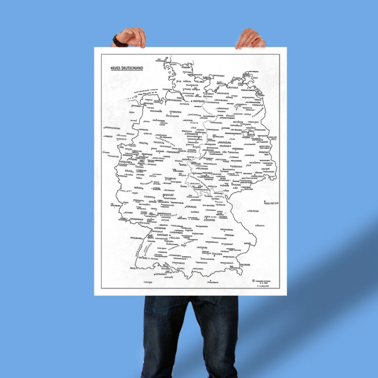 Poster Neues Deutschland